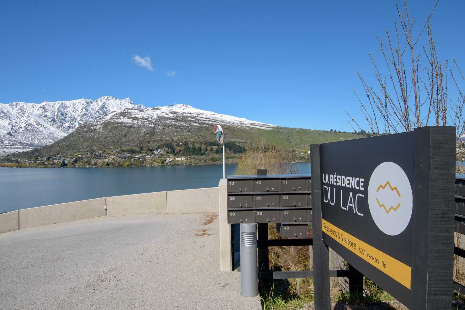 La Residence du Lac - Units: 40 / Value: 17.5M / Southern Architecture / 527 Frankton Road, Queenstown