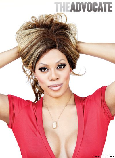 Laverne Cox, from Orange is the New Black