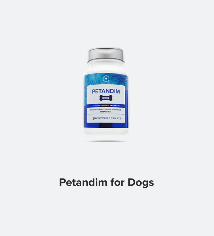 From healthier joints and a shinier coat to an extra spring in his step, Petandim™ helps dogs fight oxidative stress in a supplement that's scientifically formulated to repay your best friend for all the slobbery love he gives you.   BUY IN: USA, CANADA, NZ