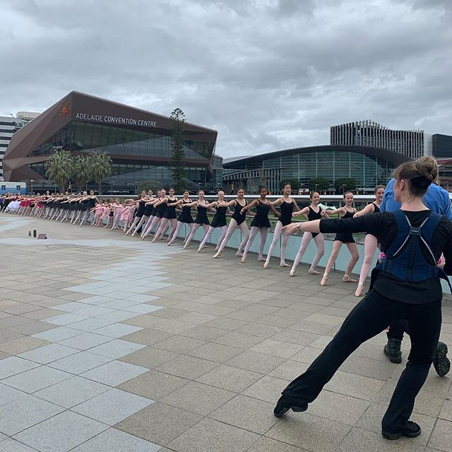 There was something exciting happening in Adelaide today for the RAD....#RAD #RoyalAcademyofDance