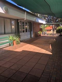 Hall courtyard