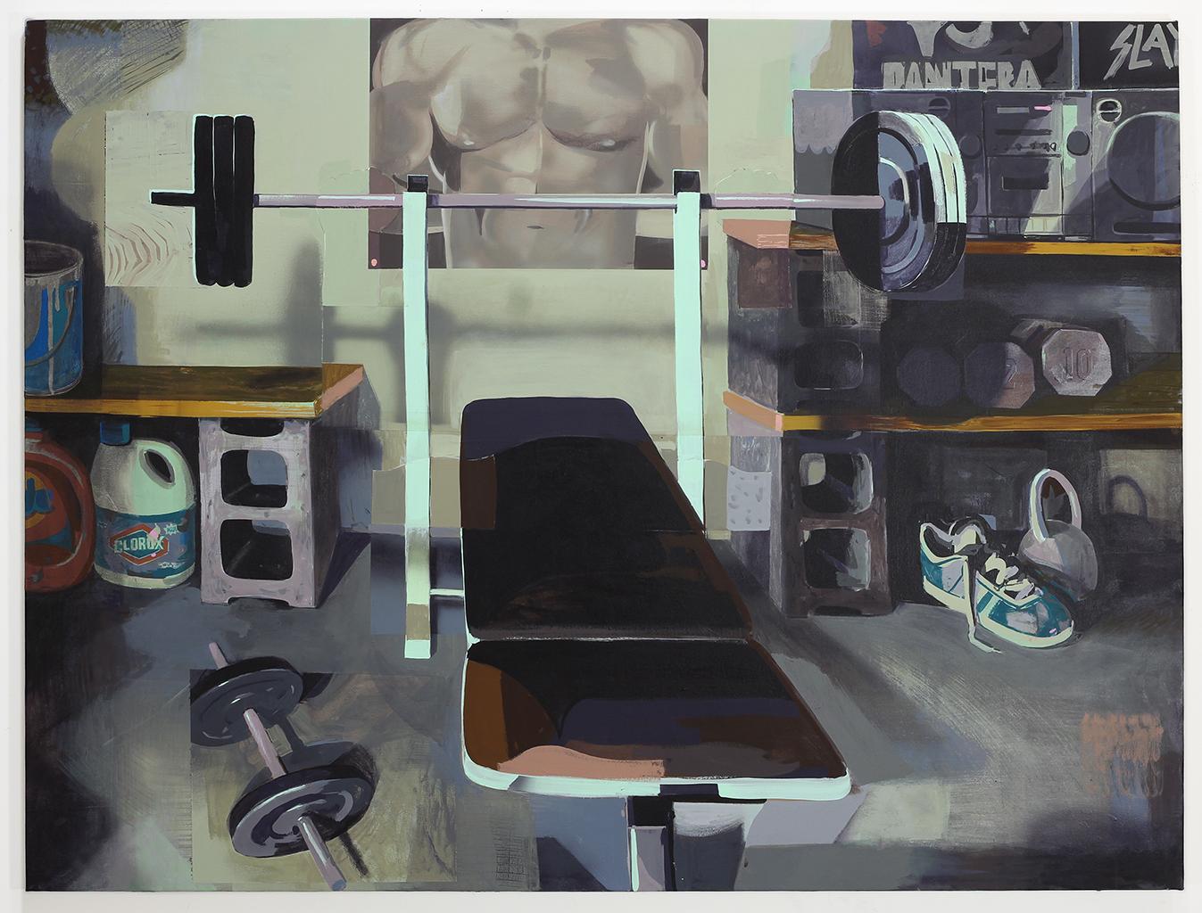 James' Weight Room