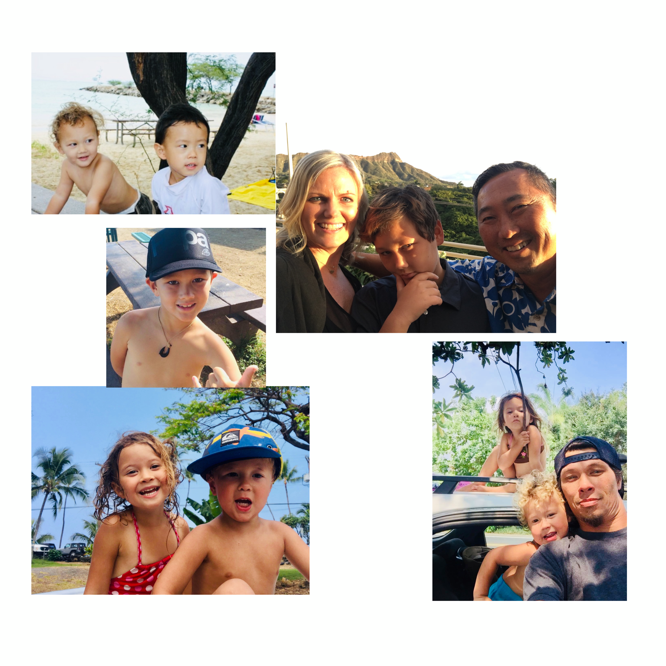 Safe for the Ohana - Ohana (Family) is special in Hawaii. Moms, Dads, Kupunas, Braddahs, Sistas, Uncles, Aunties and whoeva no like get Sunburn