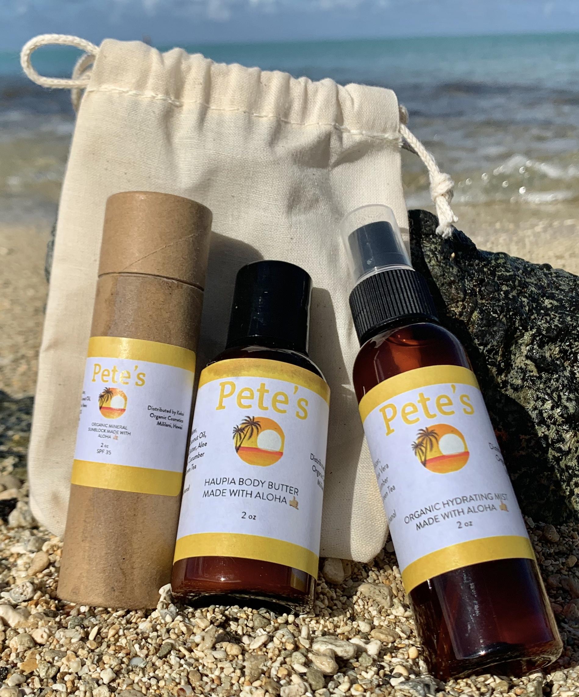 Sun Care - All natural no artificial color or fragrance, paraben free, no GMO