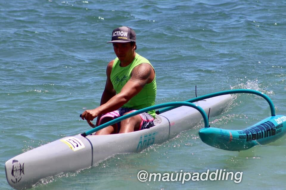 Kekoa - From the island of Maui this aspiring waterman does it all Paddle, fish, surf, dive if it has to do with the ocean he's on it!!