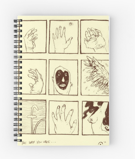 """The Way"" Spiral Notebook"