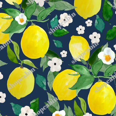 Lemons Dark Blue Back.jpg