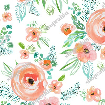 Modern Bohemian Peach Extra Flowers.jpg