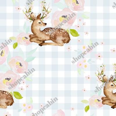 Blush Floral Deer Blue Gingham Back.jpg