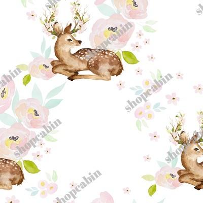 Blush Floral Deer.jpg