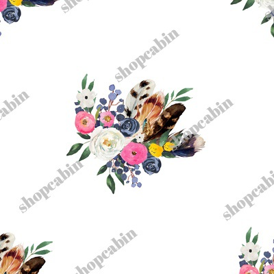 Spring Floral Boho Bouquet White.jpg