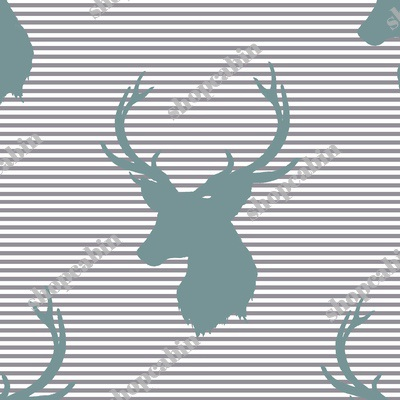 Blue Deer With Soft Grey Stripes.jpg