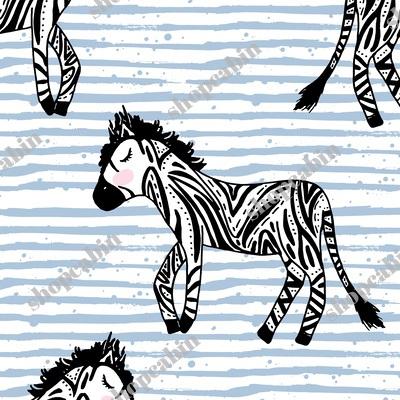 Zebras Blue Stripes.jpg