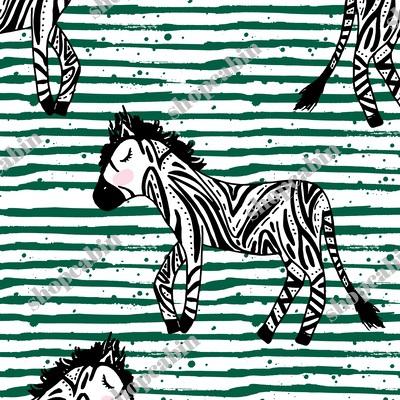 Zebras Green Stripes.jpg