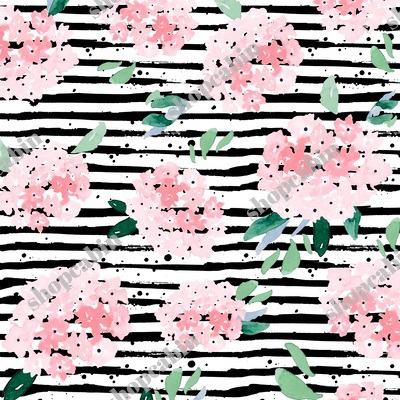 Free Falling Pink Bouquet With Black Stripes.jpg