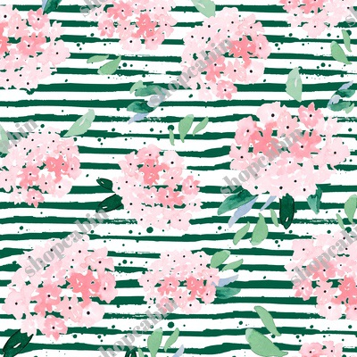 Free Falling Pink Bouquet With Green Stripes.jpg