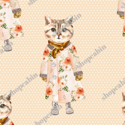Miss Kitty without Glasses White Polka Dots with Light Peach Back.jpg