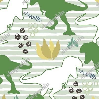 Dinos Roar Bright Green With Green Stripes.jpg