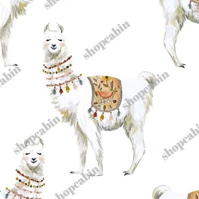 Western Aztec Llama White Back.jpg