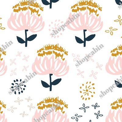 Gold Pink And Navy Florals.jpg