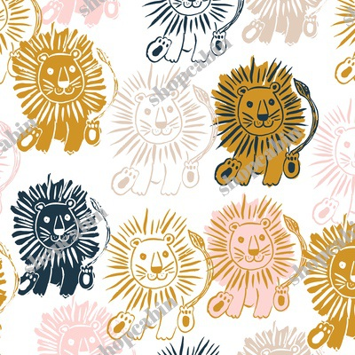 Navy Gold Pink And Tan Lions.jpg