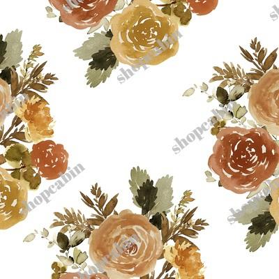 Autumn Day Bouquet Sepia White.jpg