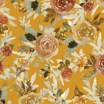 Autumn Day Florals Sepia Gold Back.jpg