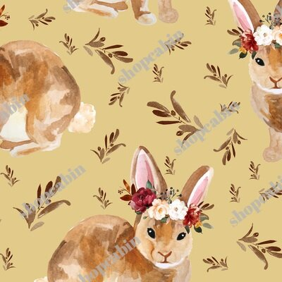 Harvest Bunny Mix And Match Autumn Mustard.jpg