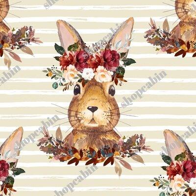 Harvest Bunny Tan And White Stripes.jpg
