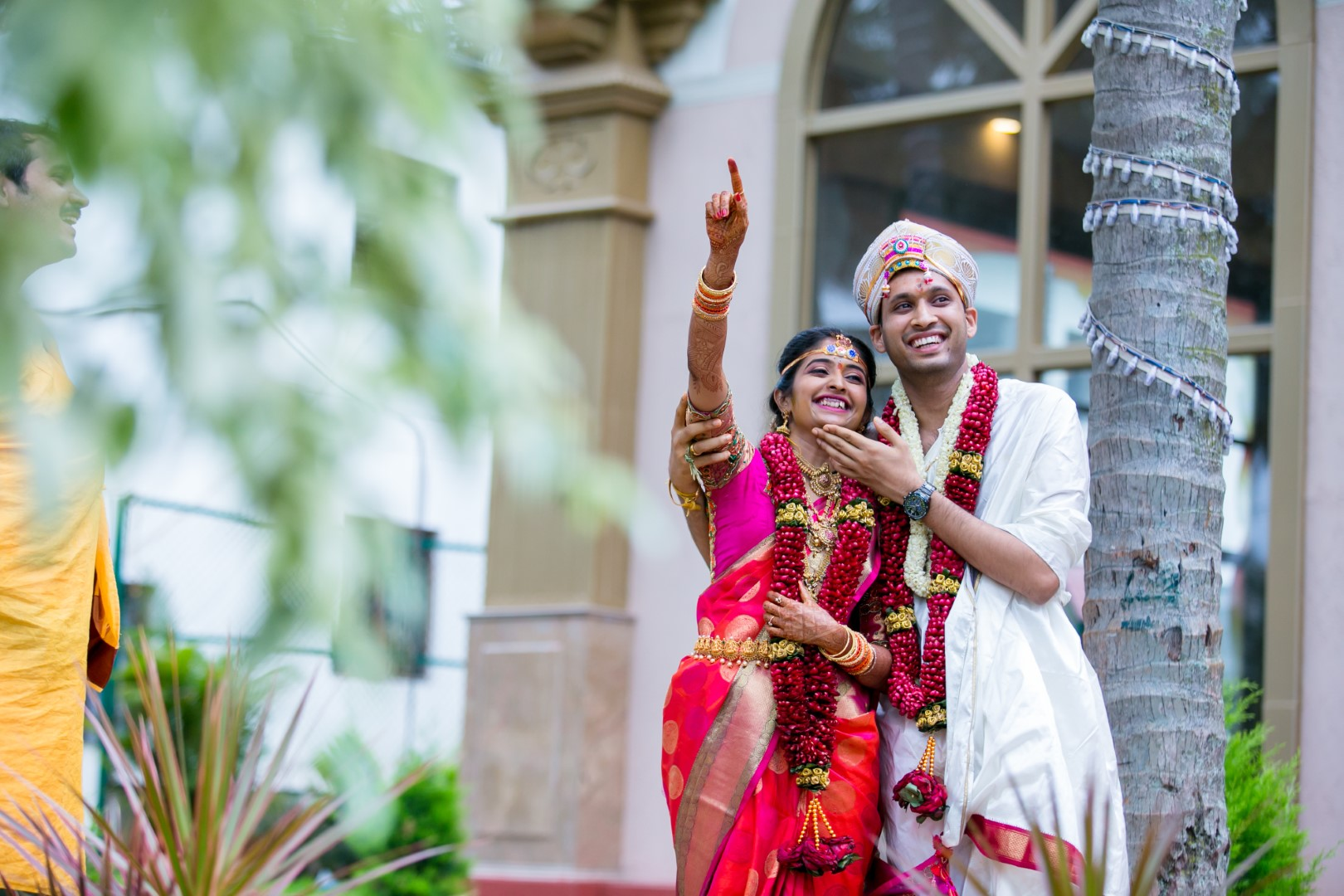 Vasuma & Sharath - Sharath is a wonderful candid photographer. He was very co-operative and understood our taste. We are really happy with all the beautiful moments he captured from our wedding.