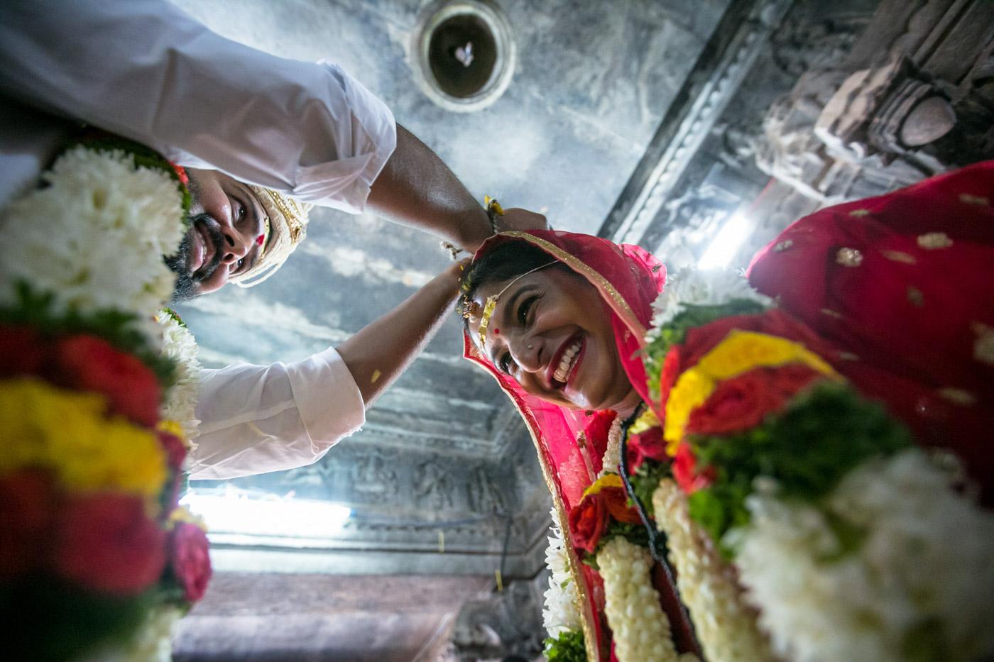 Bhavana & Sreeni - Bhoganandeeshwara temple
