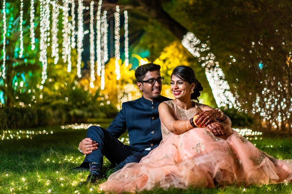 Modini & Nishanth - Our wedding pictures captured by Sharath are spectacular, we are so happy!! He made us comfortable right from the beginning. He's done an amazing job of capturing wonderful moments on our big day, even those we missed. It was easy working with him and his team, and a great experience. The energy and enthusiasm, he and the team showed throughout was exceptional. His work clearly reflects his passion. Thanks to Sharath for making our special day even more special! We highly recommend him!!