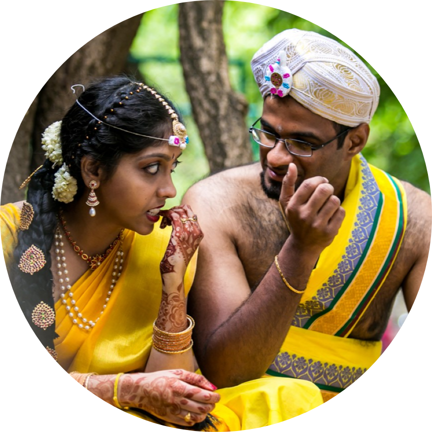 """Anjali & Balaji - """"He truly understood what I wanted out of the photos, not just mine and my husband's images but also of the people who mattered to us."""""""