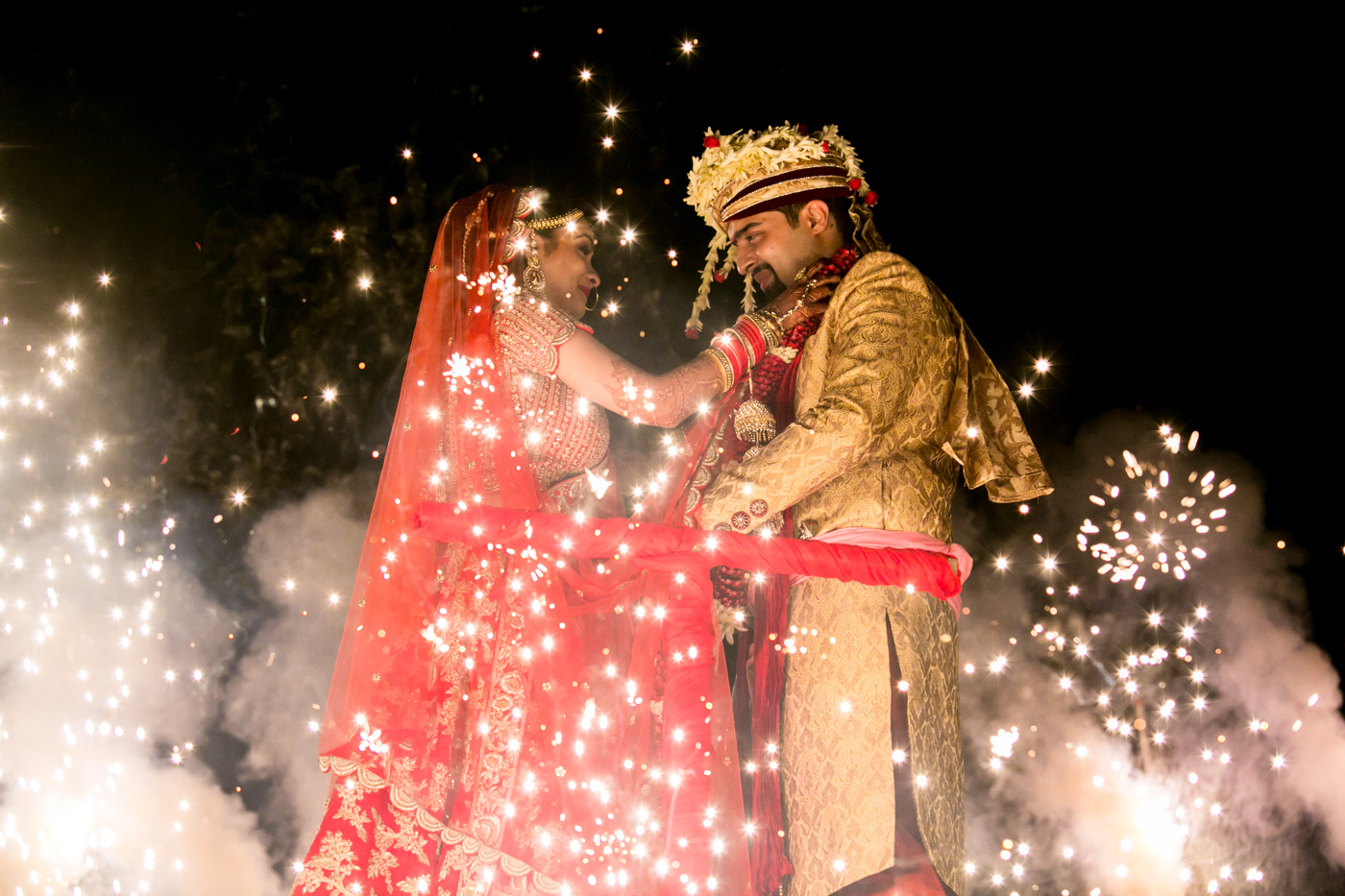 Trupti & Prateek - North Indian Wedding @ GoldFinch