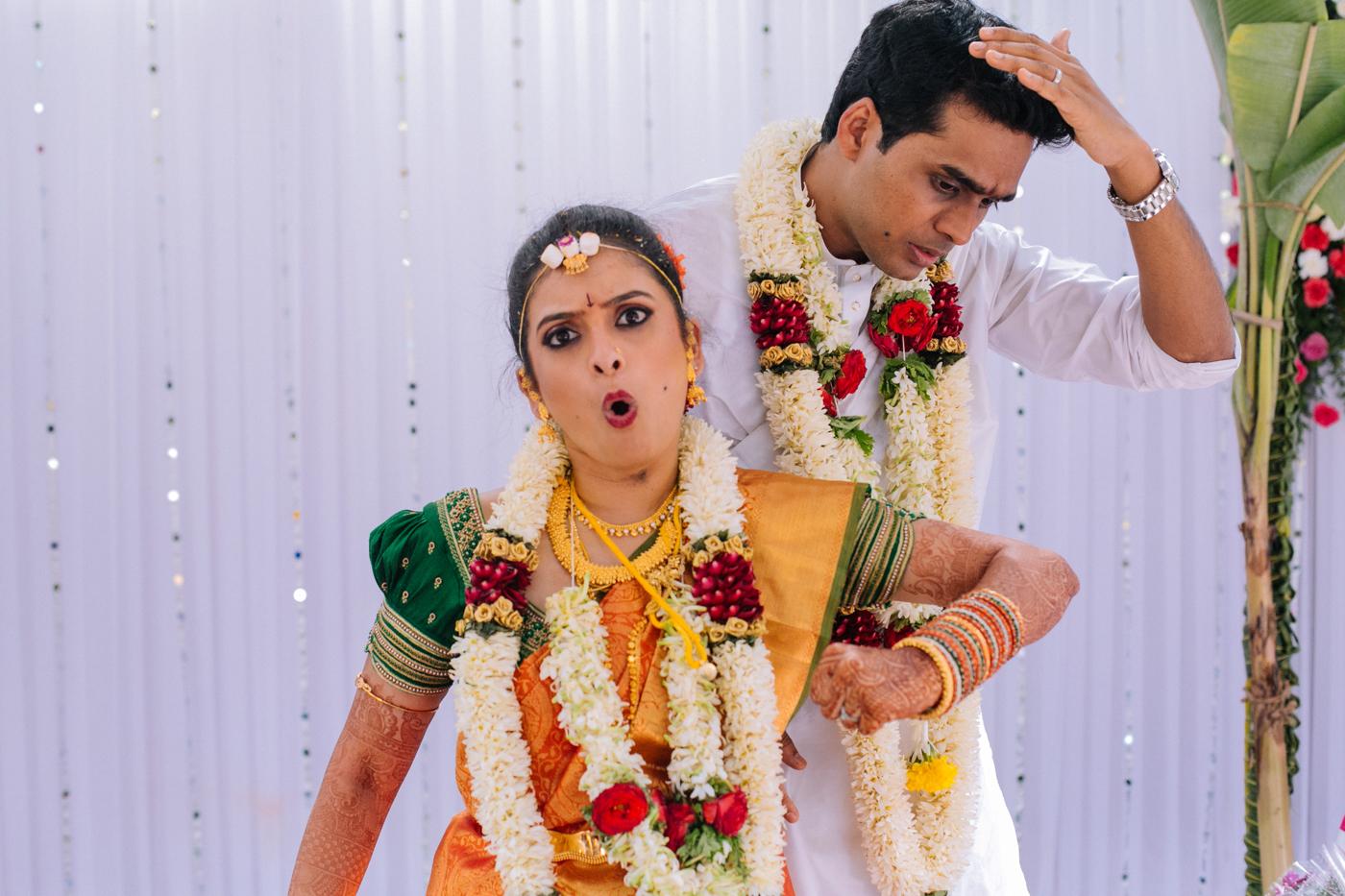 Naian & Saagar - Fun Wedding & Temple Tree