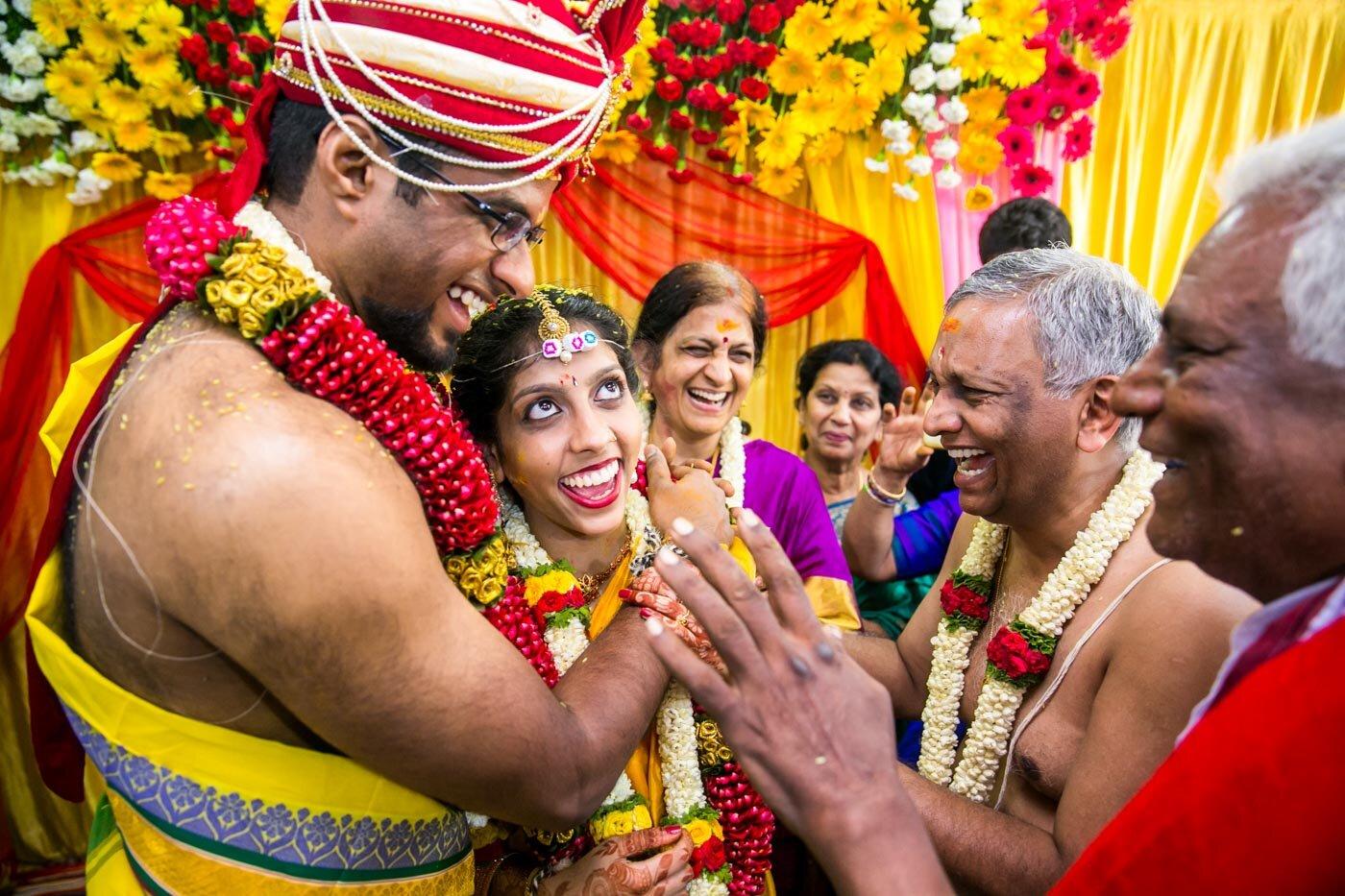 Anjali & Balaji - Intimate Temple Wedding