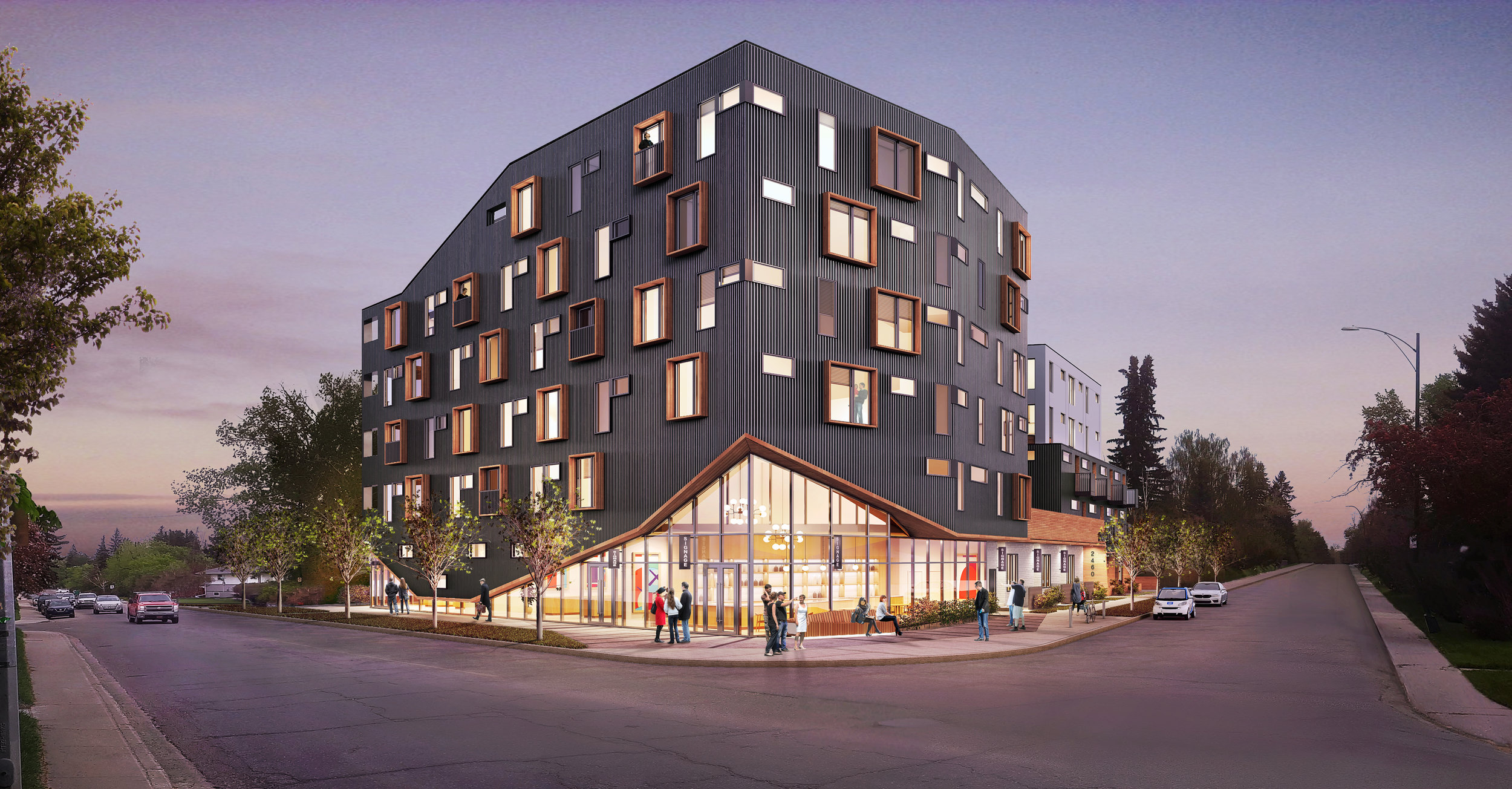 PROJECT 01 - 2460, 2464, 2468 - 23 ST NW