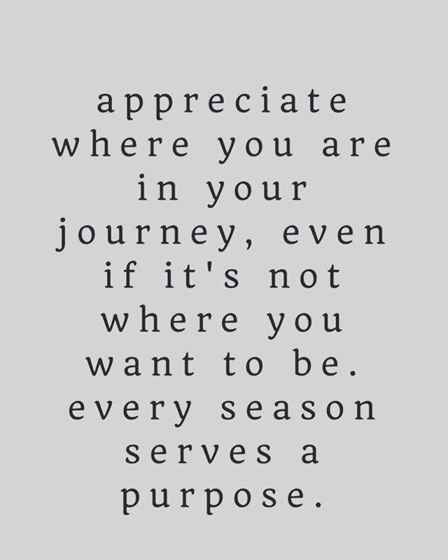 What season are you in!?