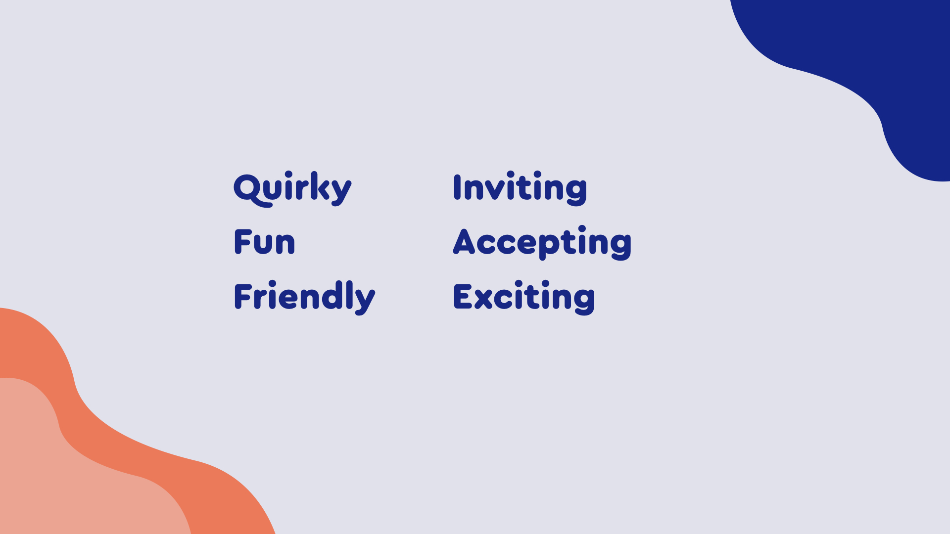 Discovering the brand - The brand is warm and inviting. It became important to keep these words in mind when injecting colour for branding consistency