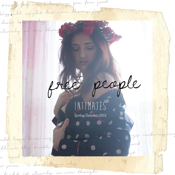 Free People - This Free People look book mock up was done during my 3rd year at Ryerson University. All photographs are original.Contribution: Art Direction/Graphic design, Photography