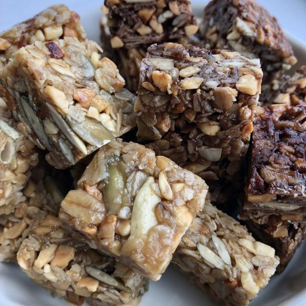Gravity Provisions - Granola squares - Hand crafted with all natural ingredients.