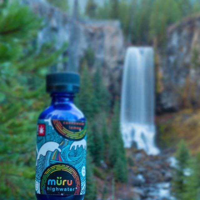 Have you tried our highwater yet? 🌈🌈🌎🌎 #drinkyourweed #cannabis #canna #oregon #portland  tag your local dispensary if you want to see it in that store