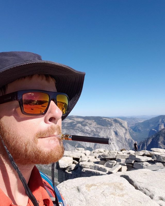 Hello from the top of half dome!! #muru #carts #noadditives #justdistillate and in-house, steam distilled #cannabis #terpenes