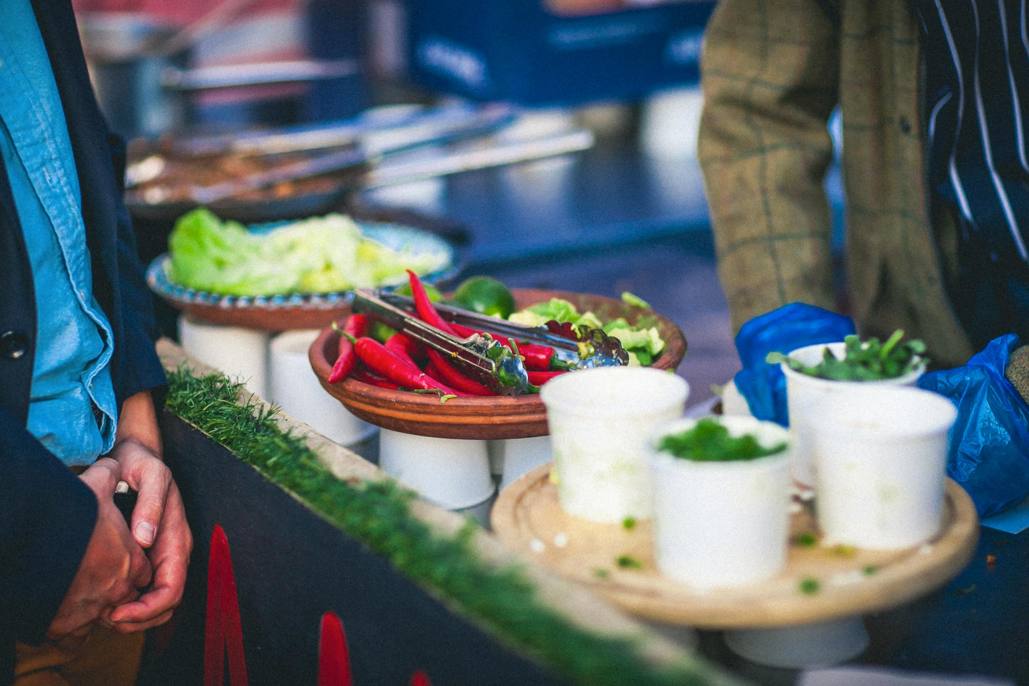 The Food - Hungry? We partner with a number of premium pop-up street food vendors to offer you a diverse range of casual dining options.