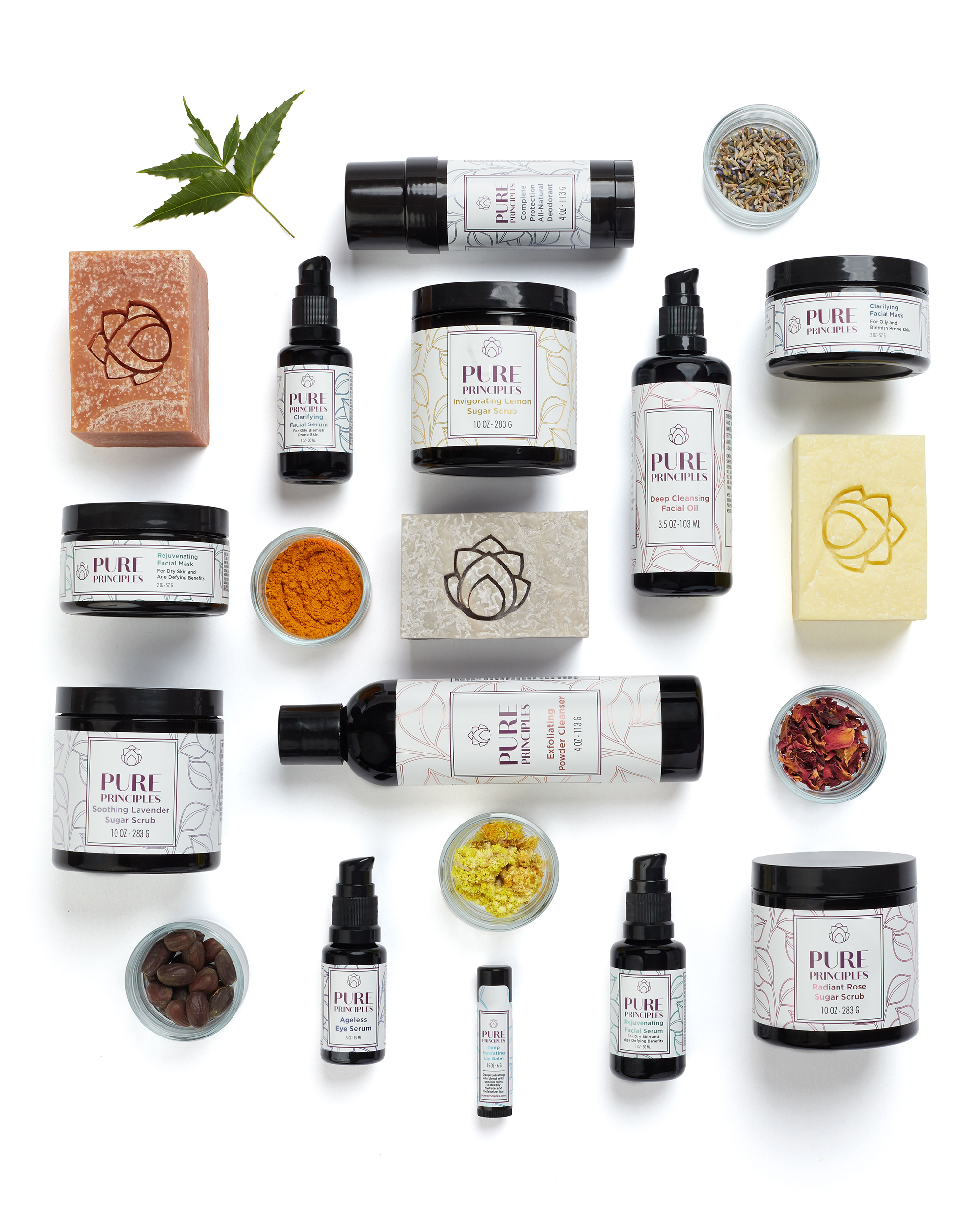 We begin in nature, not a laboratory - After sourcing the finest herbs, oils and botanicals that Mother Nature has to offer, we draw from the 5000-year-old science of Ayurveda to formulate effective, natural, chemical and preservative free skincare products.Our entire line was formulated by our founder, Cheryl McSherry, a NAMA certified Ayurvedic Practitioner and are hand crafted in micro-batches to ensure our customers receive the freshest, most potent products possible.