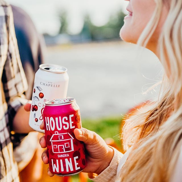 Soaking up the last of summer, cans in hand ☀️