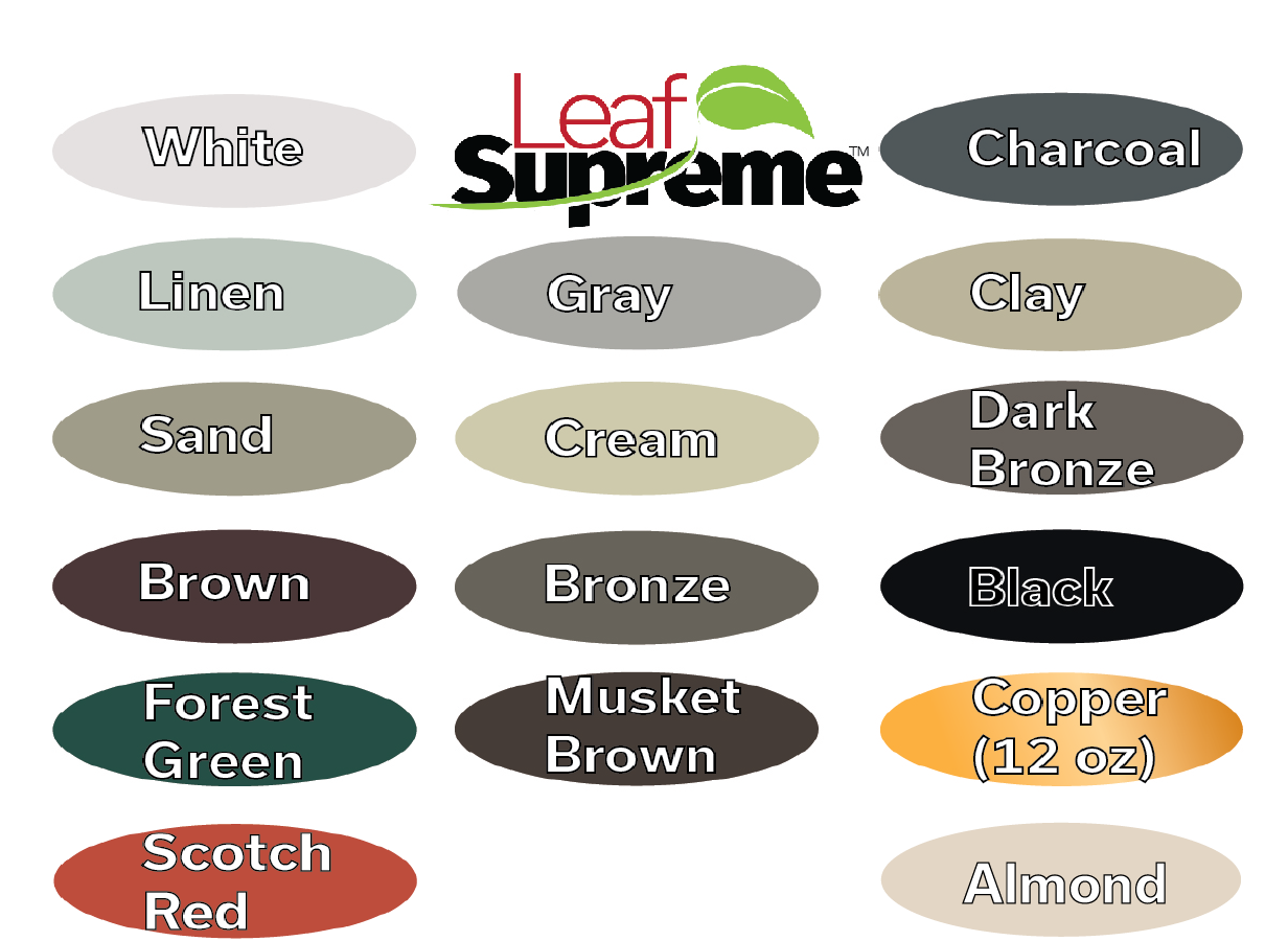 Leaf Supreme™ Pro Offered Colors Graphic