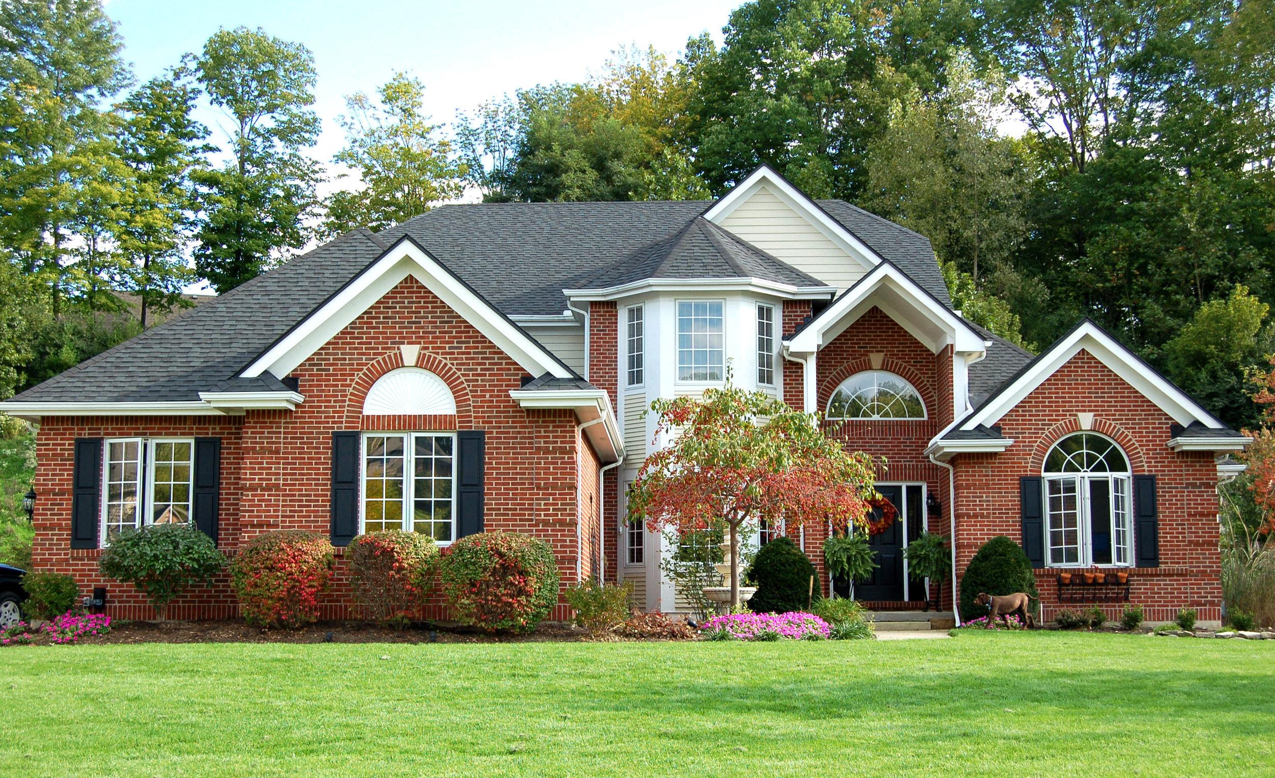 Leaf Rejector™ Red Brick House