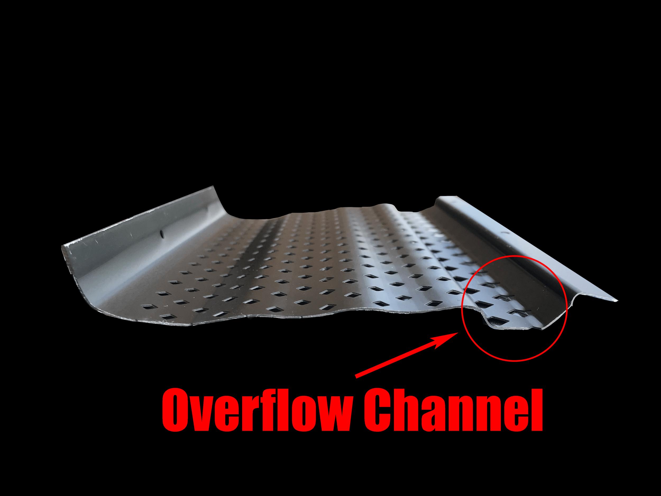 Leaf Rejector™ Black Overflow Channel