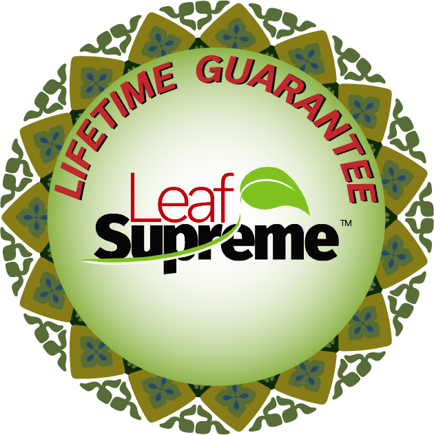 Leaf Supreme™ Lifetime Guarantee Sticker